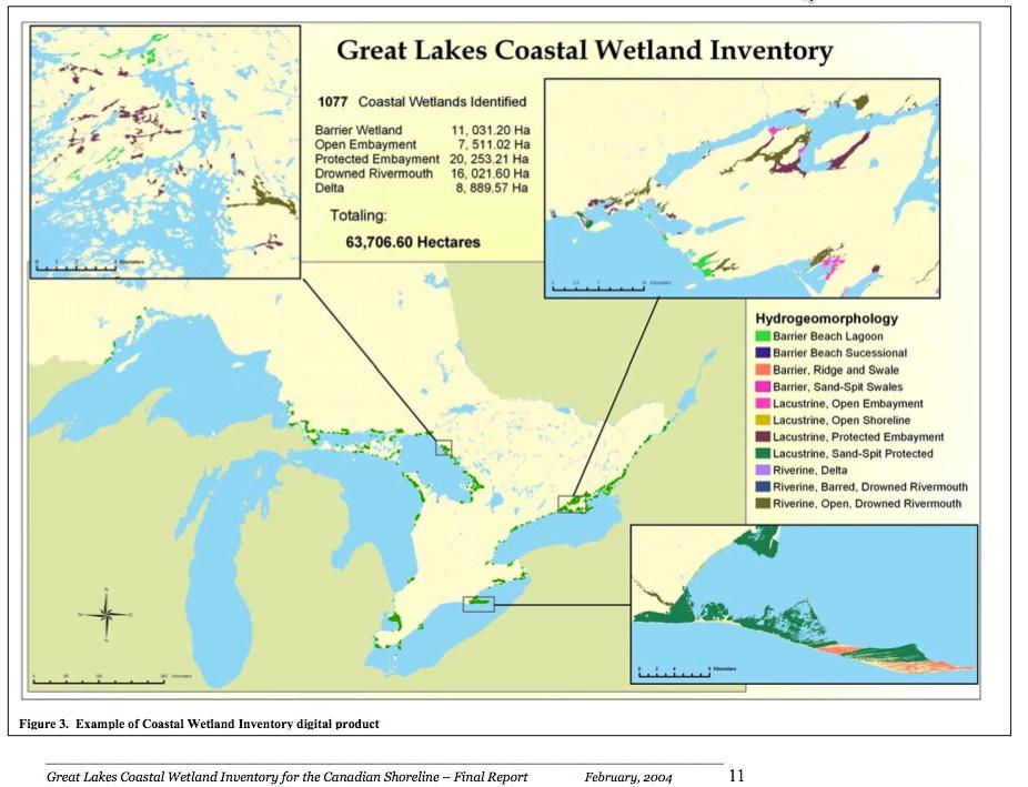 coastal wetland diagram wetland inventories | great lakes wetlands
